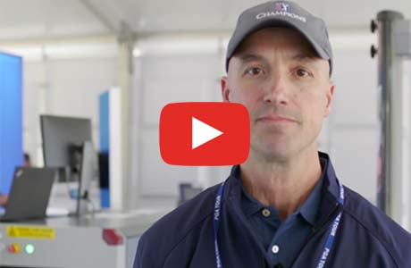 Learn About Rapiscan Systems' Event Security Equipment at the PGA TOUR Champions Tournament