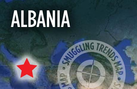 Heroine Seized • Albania